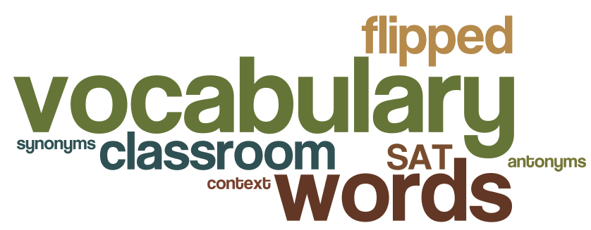 Vocabulary Lessons: Flipped, Collaborative & Student Centered |