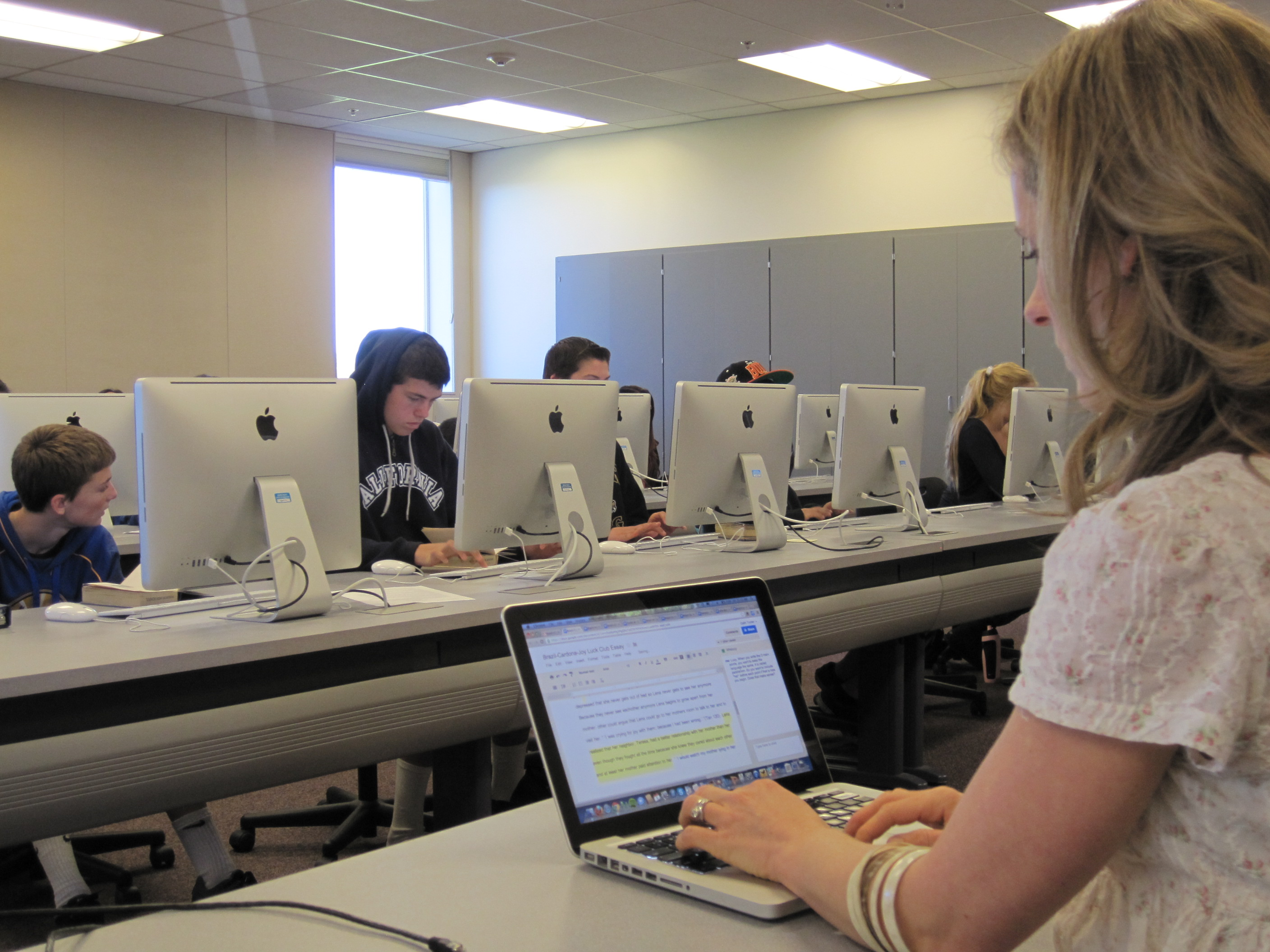 synchronous editing google docs to teach the common core 7651