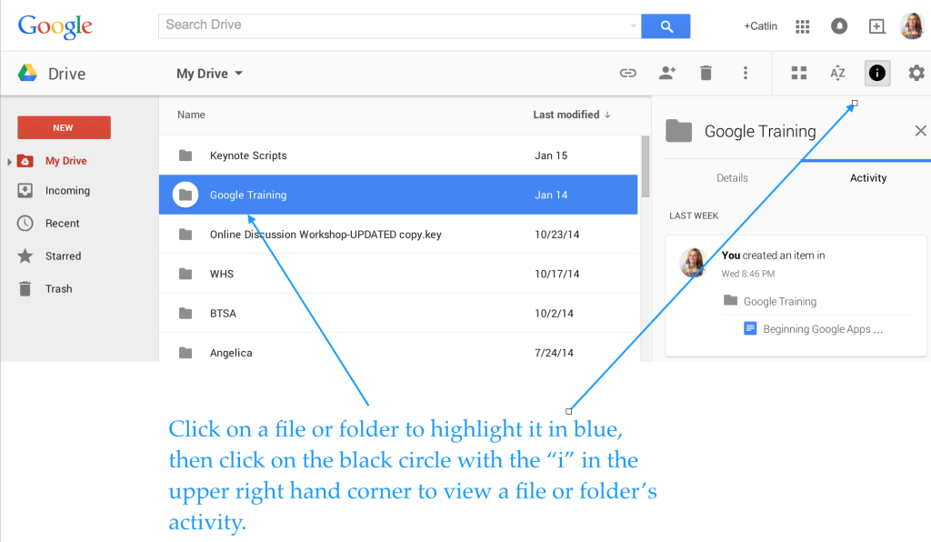how to use google drive in the classroom