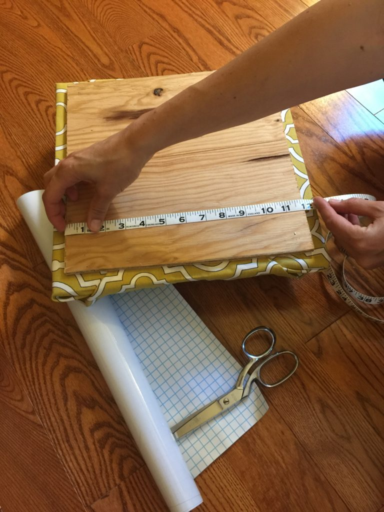Measure wood for whiteboard material -- pic 10